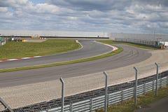 Empty motorsport racetrack Stock Photo