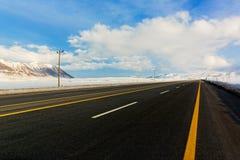 Empty motorway Royalty Free Stock Photo