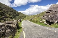 Empty Road Ireland 0022 royalty free stock photography