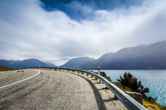 Empty Mountain road Royalty Free Stock Photos