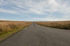 Empty mountain road in Wales, UK. Empty mountain road in South Wales, UK stock photo