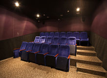 Empty movie theater Stock Photography