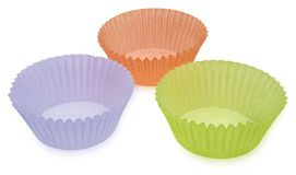 Empty Muffin Cups Stock Images