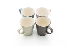 Empty mug or cup Royalty Free Stock Photos