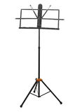 Empty music stand isolated Royalty Free Stock Photos