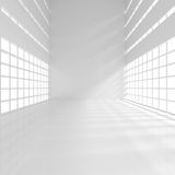Empty Narrow Room Royalty Free Stock Images