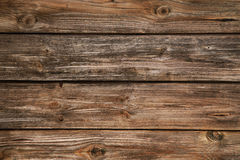 Empty natural brown wooden old background. Royalty Free Stock Photography