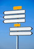 Empty navigation arrows sign Stock Photos