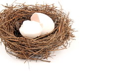 Empty Nest. Syndrome refers to the grief that many parents feel when their children move out Royalty Free Stock Photo