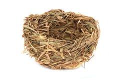 Empty nest isolated Stock Photo