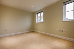 Empty New Home room Royalty Free Stock Images