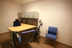 Empty new office Stock Images