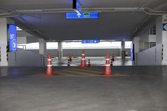 Empty new parking interior for background. Empty new parking interior for background Royalty Free Stock Photo