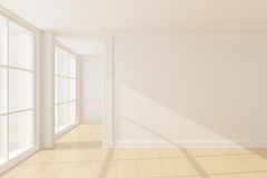 Empty new room Royalty Free Stock Photos