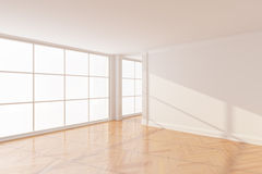 Empty new room Royalty Free Stock Photo