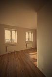 Empty new room with window Royalty Free Stock Photos