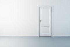 Free Empty New Room With Door Royalty Free Stock Image - 8479356