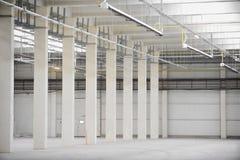 Empty new storage depot Royalty Free Stock Photo