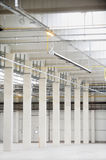 Empty new storage depot Stock Images