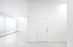 Empty new white interior Royalty Free Stock Photo