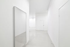 Empty new white interior Royalty Free Stock Photography