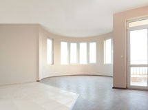 Empty newly painted room Royalty Free Stock Photos