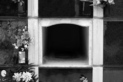 Empty niche in the wall Stock Photography
