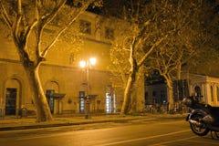 Empty night street Royalty Free Stock Photos