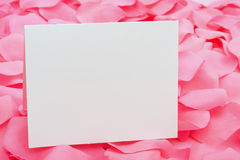 An Empty Note Royalty Free Stock Images