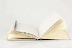 Empty note book Royalty Free Stock Photography
