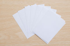 Empty note paper Royalty Free Stock Photos
