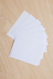 Empty note paper Royalty Free Stock Image