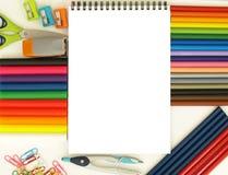 Empty notebook Stock Image