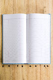 Empty notebook Royalty Free Stock Photography