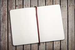 Empty notebook royalty free stock photos