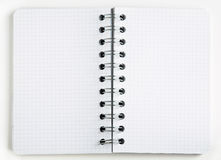 Empty notebook Stock Image