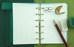 Empty notebook Stock Photography