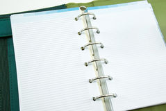 Empty notebook Stock Images