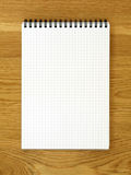 Empty notepad Royalty Free Stock Photography