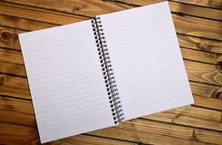 Empty notepad Royalty Free Stock Images