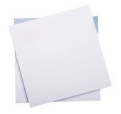 Empty notepads Royalty Free Stock Photos
