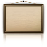 Empty notice board Royalty Free Stock Image