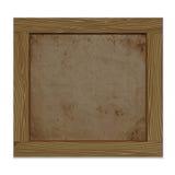 Empty notice wooden board Royalty Free Stock Photos