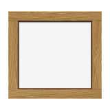 Empty notice wooden board Royalty Free Stock Images