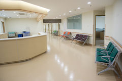 Empty Nurses Station Stock Photography