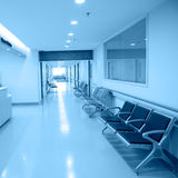Empty nurses station Stock Photography