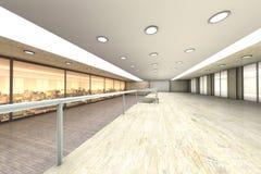 Empty Office stock illustration