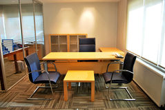 Empty office. S and empty tables Stock Photo