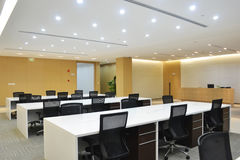 Empty office. With modern decoration Stock Image