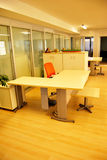 Empty office. S and empty tables Stock Images